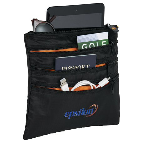 BRIGHTtravels Seat Pack Organizer, 7007-13 - 1 Colour Imprint