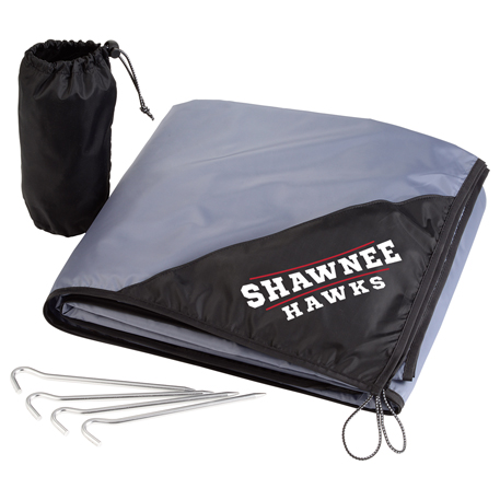 Oversized Lightweight Picnic Blanket with Stakes, 1080-44 - 1 Colour Imprint