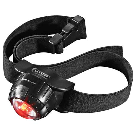 3 LED Headlamp 2 Lithium Battery, 1225-57 - 1 Colour Imprint