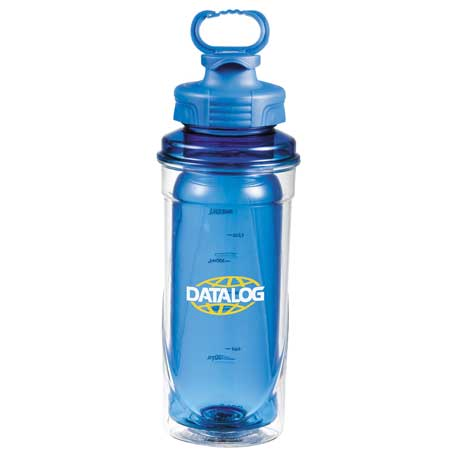 Cool Gear No Sweat BPA Free Tritan Bottle 20oz, 1622-48 - 1 Colour Imprint