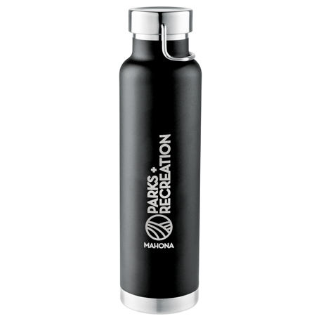 Thor Copper Vacuum Insulated Bottle 22oz, 1625-85 - 1 Colour Imprint