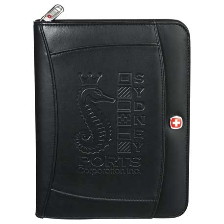 Wenger Refillable Journal, 9355-08, Deboss Imprint