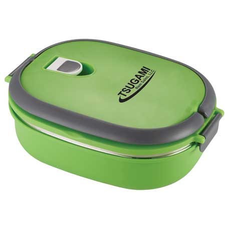 Insulated Lunch Box Food Container, 1033-51 - 1 Colour Imprint