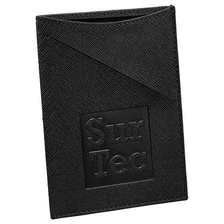 Modena Slim RFID Passport Wallet, 0881-03 - Debossed Imprint