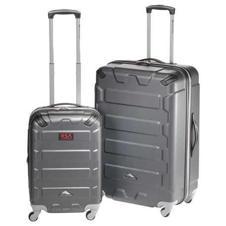 High Sierra(R) 2pc Hardside Luggage Set, 8053-02, Deboss Imprint