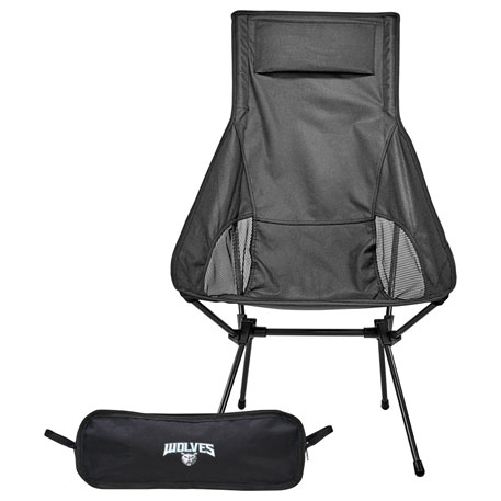 Ultra Portable Compact Highback Chair, 1070-91, Deboss Imprint