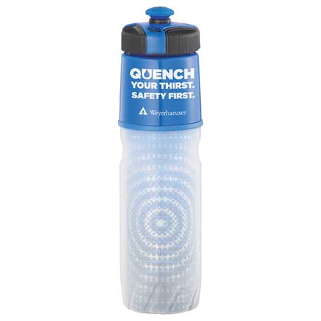 Cool Gear Insulated BPA Free Squeeze Bottle 20oz, 1623-56 - 1 Colour Imprint