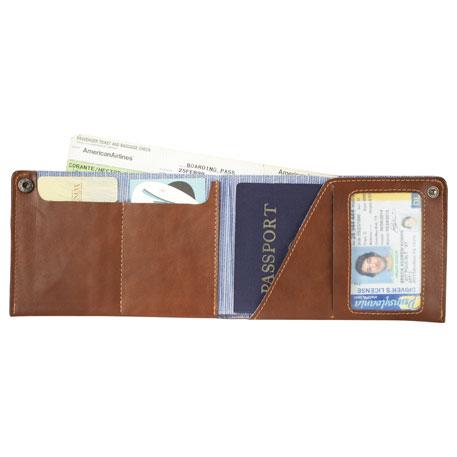 Alternative Travel Wallet, 9004-18 - Debossed Imprint