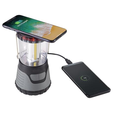 High Sierra(R) Scorpion Wireless Power Bank Lantern, 8052-64, 1 Colour Imprint