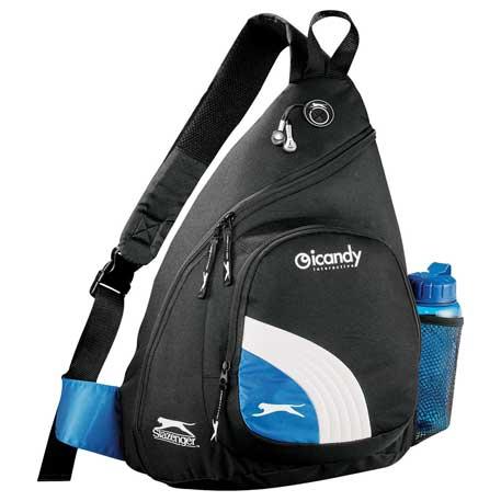 Slazenger Sport Deluxe Sling Backpack, 6050-55 - 1 Colour Imprint