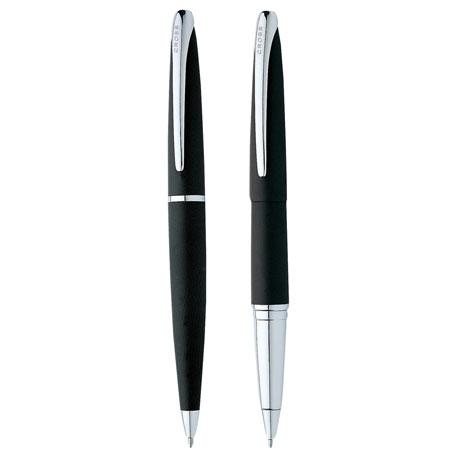 Cross ATX Basalt Black Pen Set, 2767-23 - 1 Colour Imprint