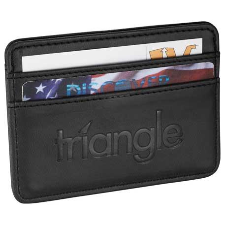 Pedova Card Wallet, 3350-53 - Debossed Imprint