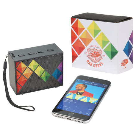 Banner Bluetooth Speaker with Full Color Wrap, 7198-82, 1 Colour Imprint