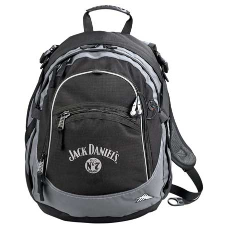 High Sierra(R) Fat-Boy Backpack, 8050-95, 1 Colour Imprint