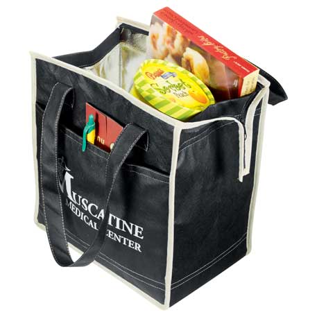 Quilted Insulated Non-Woven Tote, 2151-10, 1 Colour Imprint