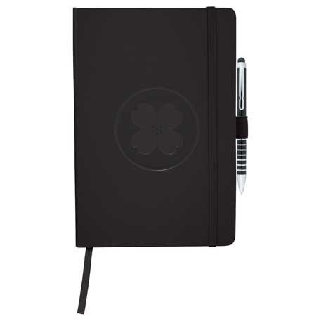 Ambassador Flex Bound JournalBook Bundle Set, 1900-01, 1 Colour Imprint