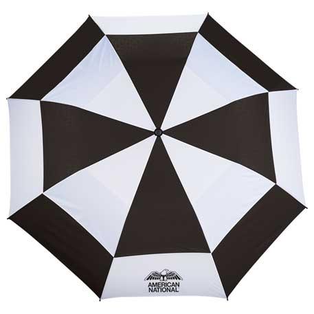"58"" Slazenger, 2 Section Auto Open, Golf Umbrella, 2050-43 - 1 Colour Imprint"