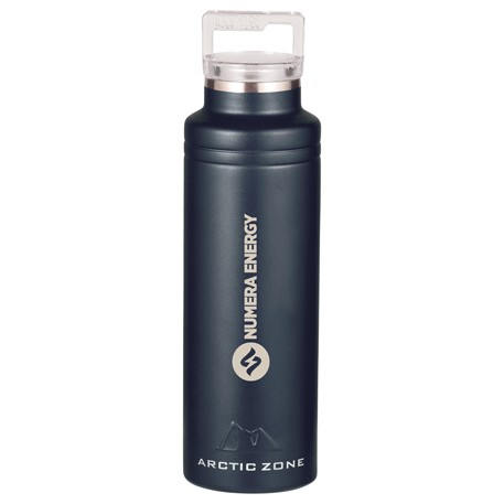Arctic Zone Titan Thermal HP Copper Bottle 20oz, 1626-22, Laser Engraved Imprint