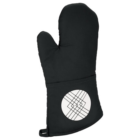 Quilted Cotton Oven Mitt, 1401-17 - 1 Colour Imprint