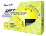 TaylorMade® Soft Response Yellow Golf Balls (In House)