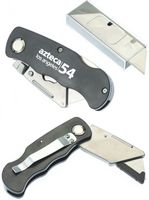"6"" Utility folding knife with 5 extra blades"