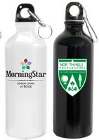 25 Oz. Aluminum Water Bottle with Carabiner