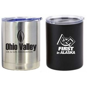 Double wall stainless steel vacuum insulated tumbler 10 oz