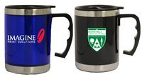 16 Oz. Acrylic Straight Body Travel Mug w/ Stainless Steel Interior