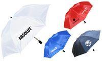 "Foldable Umbrella - 40"" Arc and Folds Into Compact 13"""