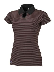90117fedd2 FILA Women's Orleans Striped Polo Shirt - FA5562 - IdeaStage Promotional  Products