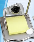 Golf Memo Holder w/ Pen & Clock