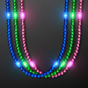 Custom LED Flashy Beads, Multicolor Assortment