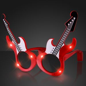 4c62466fc9b Red Guitar LED Sunglasses - 11592 - IdeaStage Promotional Products