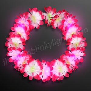 Pink cat ears headband 12091 pk ideastage promotional products flashing daisy led flower headband mightylinksfo