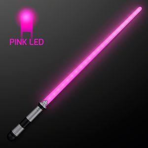 Custom 22 LED Pink Saber Space Sword