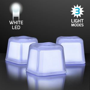 Custom Hollywood Ice Light Up White Ice Cubes