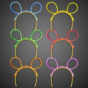 Glow Ear Headbands - BLANK