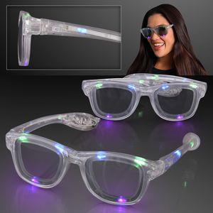 LED Flashing Cool Shade Multicolor Sunglasses