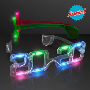 Light Up New Year Party Glasses