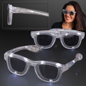 White LED Cool Shades Party Glasses