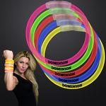 Custom Assorted Color 8 inch Glow Bracelet