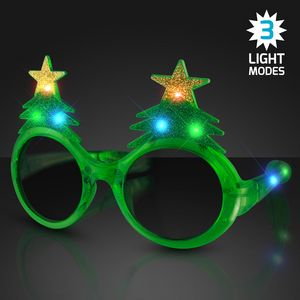 LED Glitter Christmas Tree Shades