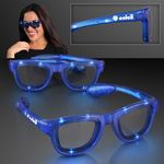LED Flashing Cool Shade Blue Sunglasses