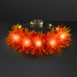 Custom Autumn Lights Festival Floral Crown