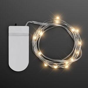 Warm White Fairy Lights, 20 LEDs, 80