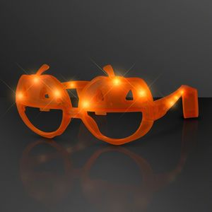 Light Up Pumpkin Sunglasses