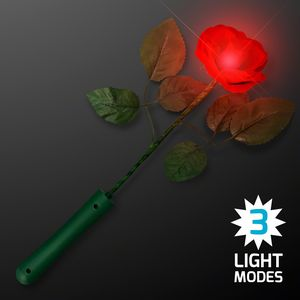 Custom Red LED Rose