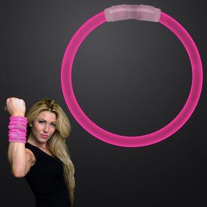 Custom 8 inch PINK Glow Bracelet