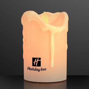 Custom Printed Flickering LED Candles