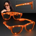 Cool Shades Orange LED Sunglasses